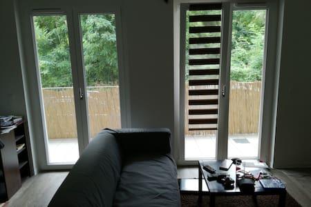 Modernes 1-Raum-Apartment mit Balkon in Dresden - Apartment