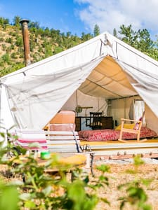 Cool Canvas Wall-Tent in Applegate - Tenda