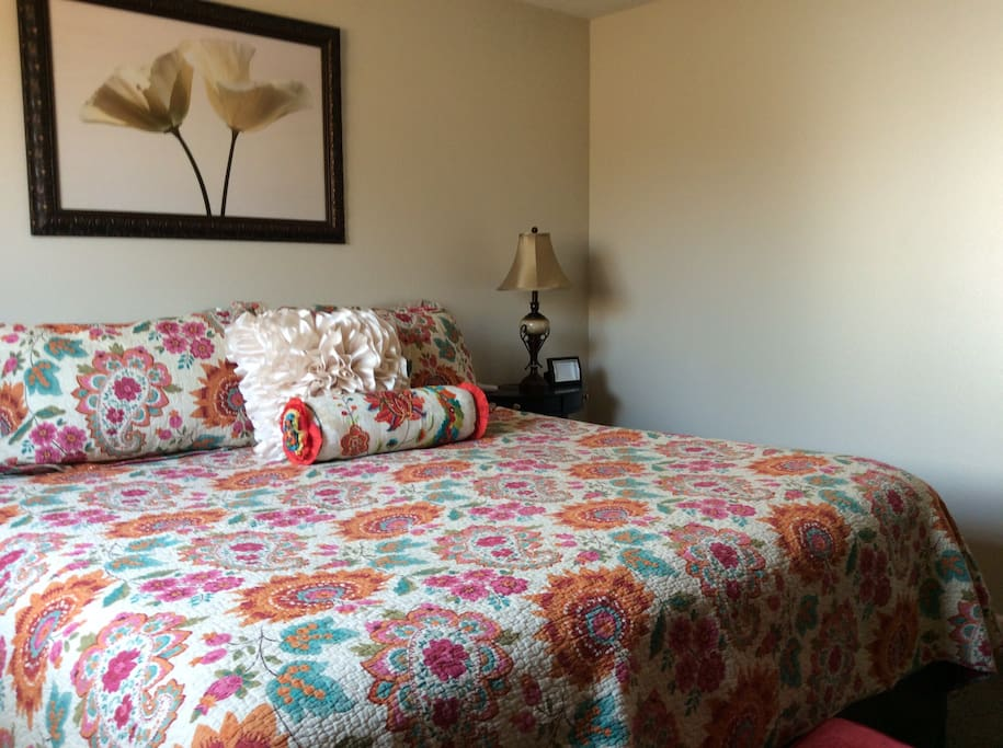 Another look in the master bedroom