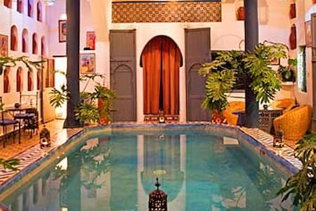 one room for 2 peoples in my riad