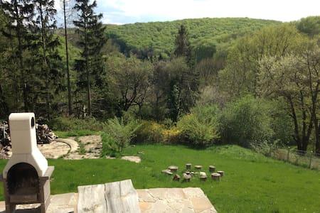 Knusperhäuschen mit Garten - Ev