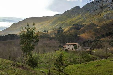 Refurbished stone house with views - La Pereda