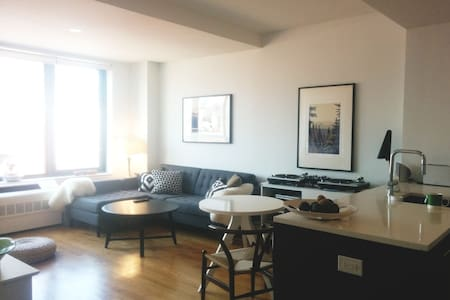 This is a bright, clean, and modern apartment in Boerum Hill w/ full amenities. The building has a rooftop patio, doorman, and a gym on site. It is well-located and walking distance to great restaurants, the Atlantic Barclays Center and Prospect Park