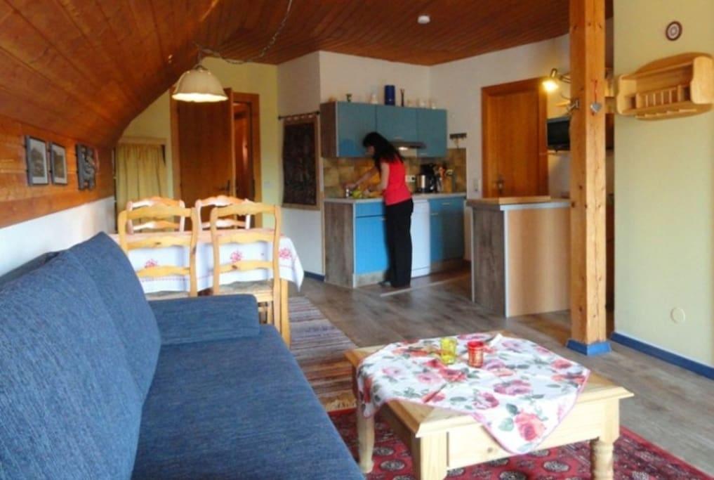 Wohnung Roswitha für 4 Personen