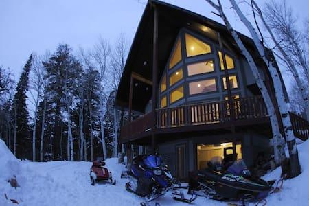Adventure Cabin Getaway - Wanship - Blockhütte