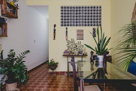 Room in 3-fl house, historic center
