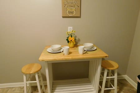 Spacious terrace apt. 5 min from LU - Lynchburg - Casa