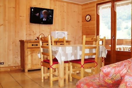 Appartement très ensoleillé coté Super Morzine - Morzine - Apartment