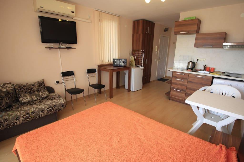 Studio Apartment in 5 star hotel