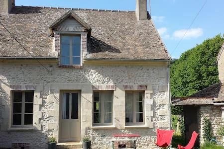 Vexin : Maison de village proche de Giverny - Casa