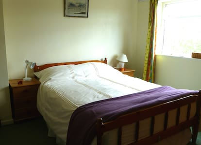 Comfy double bed in the Dales