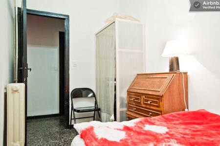 Double room ext. in center, WIFI - Barcelona - Apartment