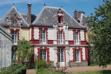 Family suite in Chateau with garden - Sailly-Flibeaucourt