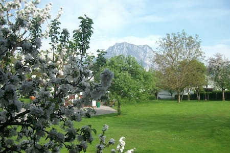 Calm rooms with view on Traunstein - Bed & Breakfast
