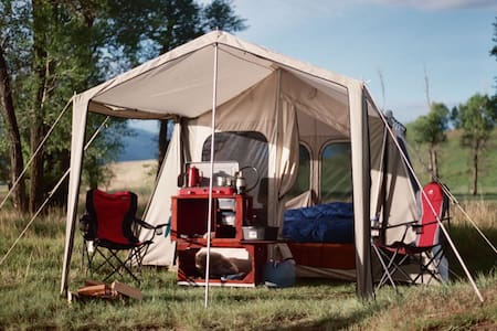 Mobile Montana Glamping - 텐트