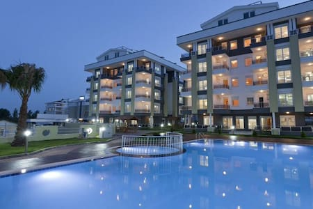Elit 1+1 Apartment in Antalya - Antalya