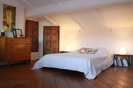 """Chambre """"Sous les étoiles"""" terrasse - Saint-André-de-Sangonis"""