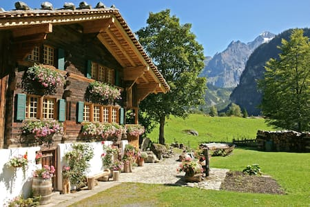 The Hayloft, Award winner, 1 bed - Kandersteg