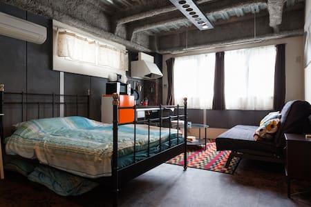 Retro Studio Sky Tree / Asakusa area cozy flat! - Byt