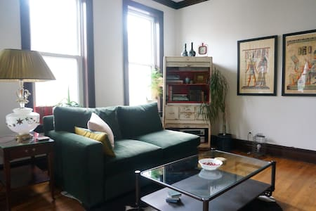 Big & Cozy 3BR in Logan Sq. - Single Room - Chicago - Apartment
