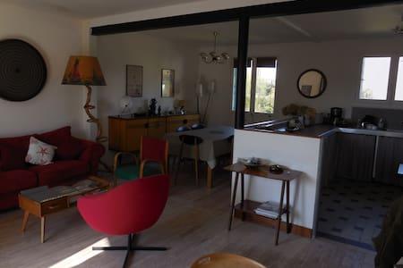 Maison avec jardin bord de mer - Quettehou - Haus