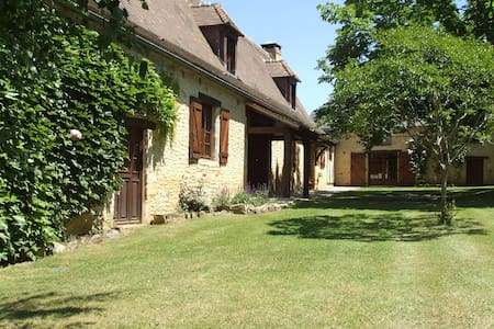 Sarlat farmhouse with private pool - House