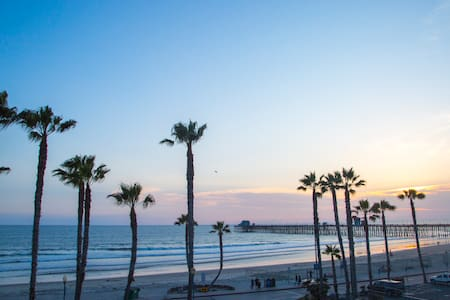 We are located in the heart of Downtown Oceanside. We are right across the street from the beautiful beach. Conveniently close to the Oceanside Pier, movie theater, museums, and plenty of local restaurants. At Sea View every effort is made to ensure that your time with us is both enjoyable and relaxing!