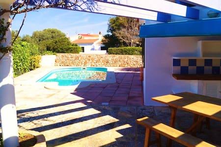 Stylish villa with pool near beach - Ciutadella de Menorca