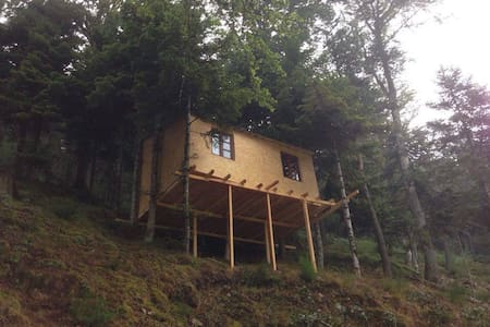 Cabane dans les arbres Ô Paradis Fonts-Hautes - Saint-Pierre-sur-Doux - Blockhütte