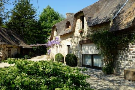 Authentique chaumière dans le sud Finistère - Casa