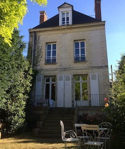 Chambre avec S.de B privée dans maison, parking - Radhus
