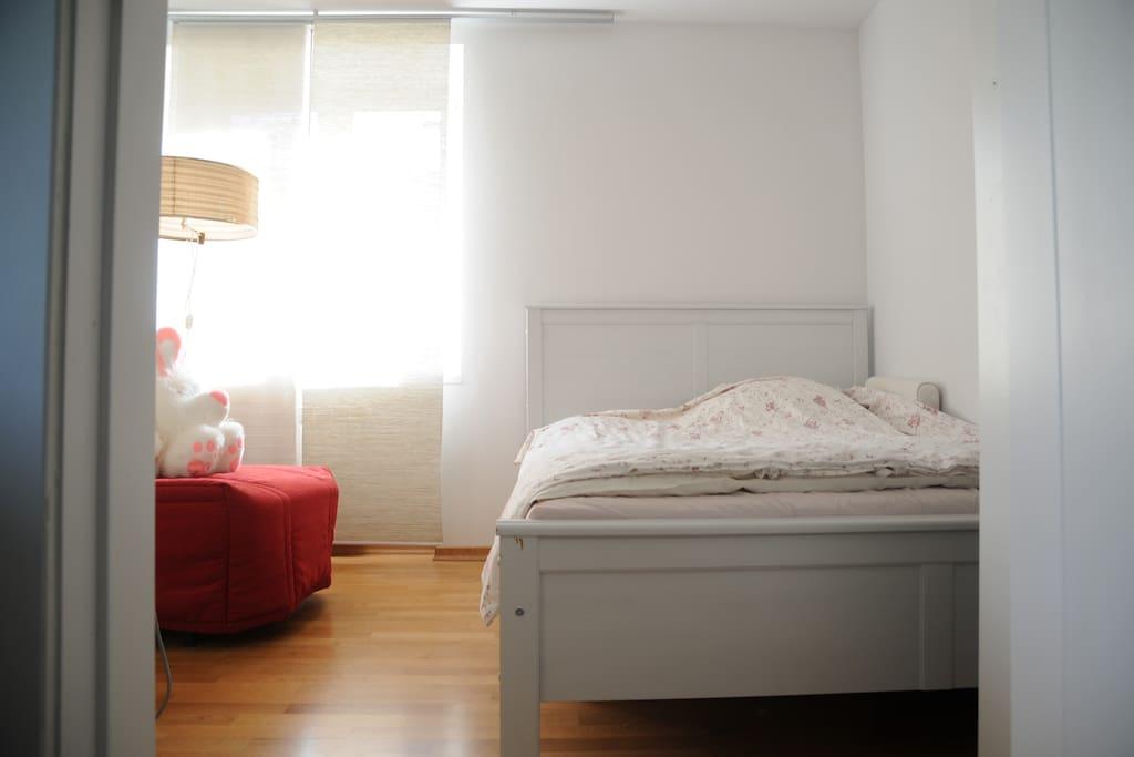 The bigger sleeping-room 1./ Большая спальная комната 1.
