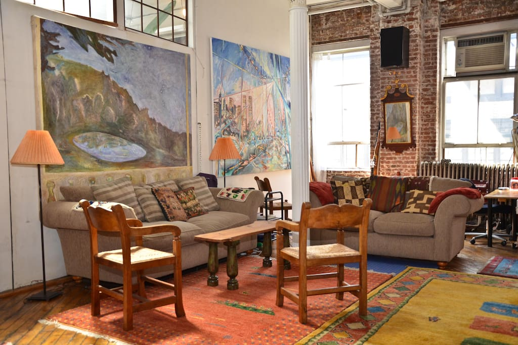 Soho Artist Loft Wth Office Option Lofts For Rent In New York