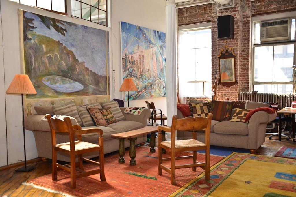 Soho Artist Loft Wth Office Option Lofts For Rent In New York