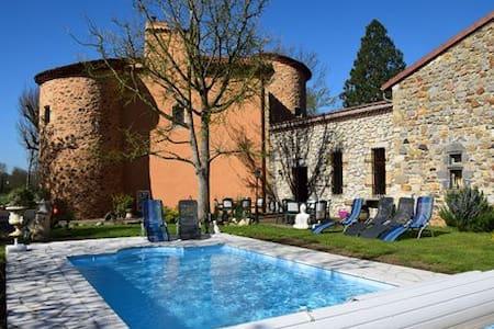 B&B Le Château des Aiguilles - Castle
