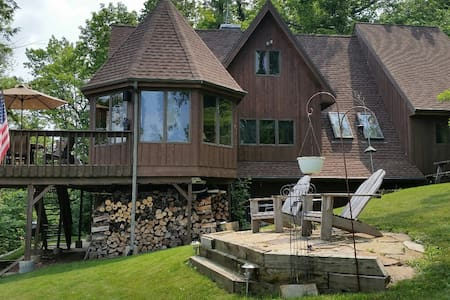 PERFECT SKI/DELLS GETAWAY LOCATION-PRIVATE HOME! - Poynette - Ev