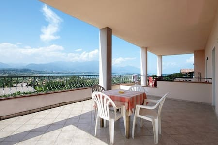 Lake view terrace apartment 4 pers. - Manerba del Garda - Apartmen