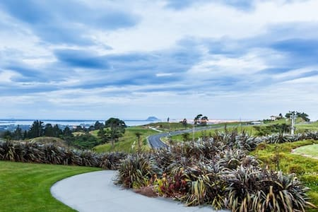 Relax at Minden Heights. Bay views & city lights - Wairoa - Bed & Breakfast