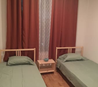 Two twin bed private room 87 - Appartamento