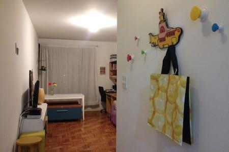 Apartamento aconchegante perto do metro e de tudo - São Paulo - Apartment