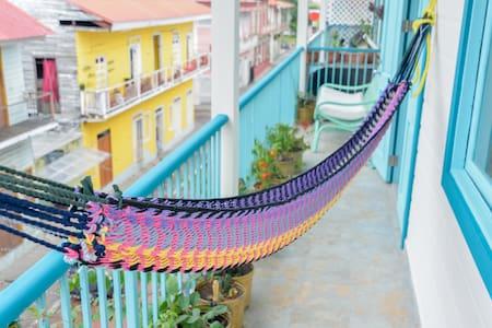 Bocas style in Casco Viejo - Panamá