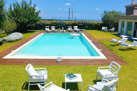 Villa Ermes con piscina - Viagrande - Villa