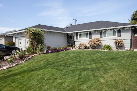 Relax in cozy room n Silicon Valley - Sunnyvale - House