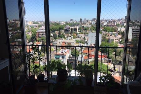 Bright 55m2/600sqft 2BR apt in luxe Belgrano R - Wohnung