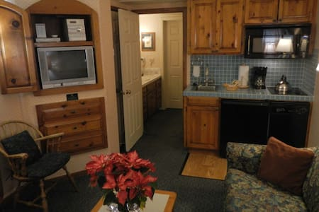 Cozy Condo steps from Squaw Valley - Olympic Valley - Apartamento