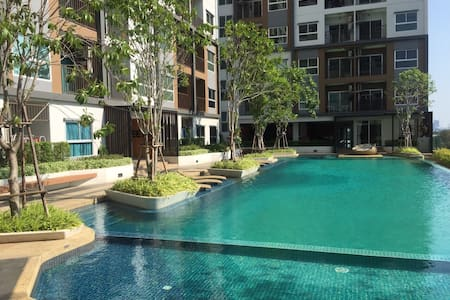 Pool ,Very close to JJ market, DMK - Apartment