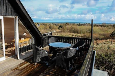 Lejlighed med havudsigt og terrasse - Huis