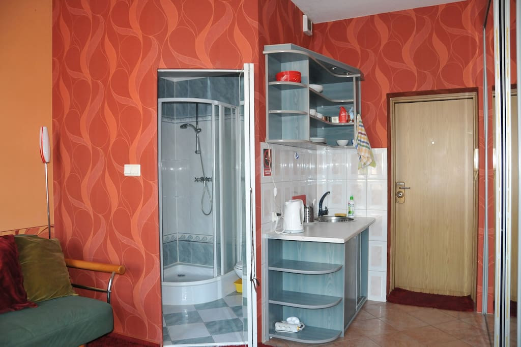 Studio apartment for 2 in Sopot.