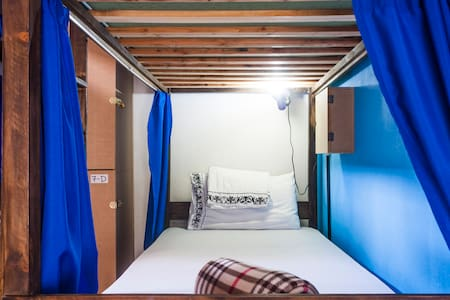 Room type: Shared room Bed type: Real Bed Property type: Dorm Accommodates: 1 Bedrooms: 1 Bathrooms: 1
