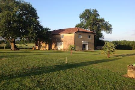 maison à la campagne - Mauléon d'armagnac - Bed & Breakfast